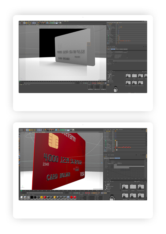 State Farm 3D Card